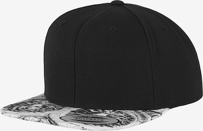 Flexfit Cap 'Sun King' in schwarz / weiß, Produktansicht