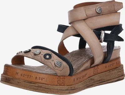 A.S.98 Sandały z rzemykami 'Sandale LAGOS' w kolorze beżowym, Podgląd produktu