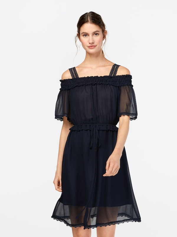 Robe Kooples 'crinkle' The En Bleu De Cocktail Marine Nn0wm8