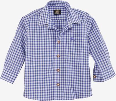 OS-TRACHTEN Hemd in blau / weiß, Produktansicht