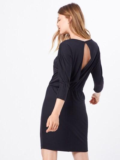 basic apparel Obleka 'Laila' | črna barva: Pogled od zadnje strani