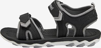 Hummel Sandale 'Buckle' in grau / schwarz, Produktansicht