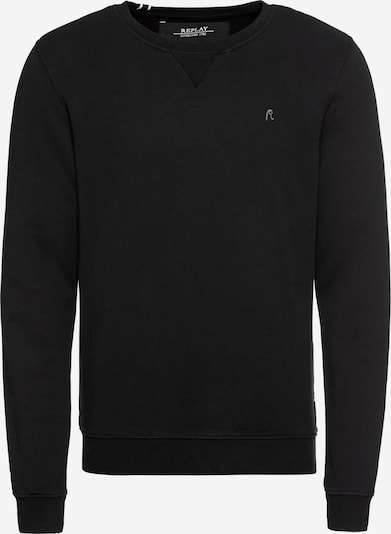 REPLAY Pullover 'Sweatshirt' in schwarz, Produktansicht