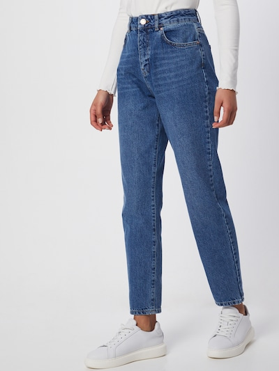 Noisy may Jeans 'Isabel' in de kleur Blauw denim, Modelweergave