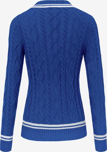 Looxent Pullover in blau / weiß, Produktansicht