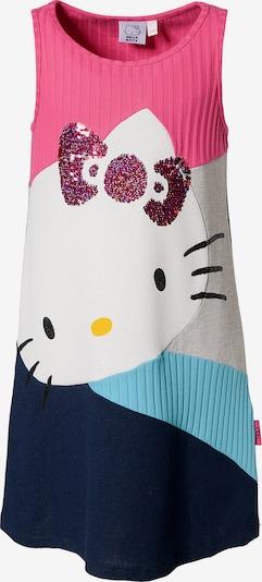 Desigual Kleid in marine / hellblau / pink / weiß, Produktansicht