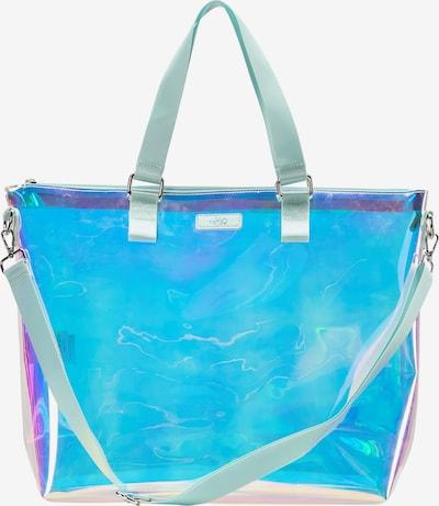 MYMO Cabas en opal / aqua / fuchsia, Vue avec produit