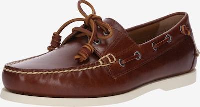POLO RALPH LAUREN Mocassin 'Merton Slip on boat leather' en marron, Vue avec produit