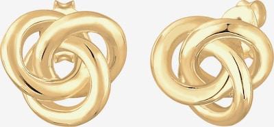 ELLI Ohrringe Knoten in gold, Produktansicht