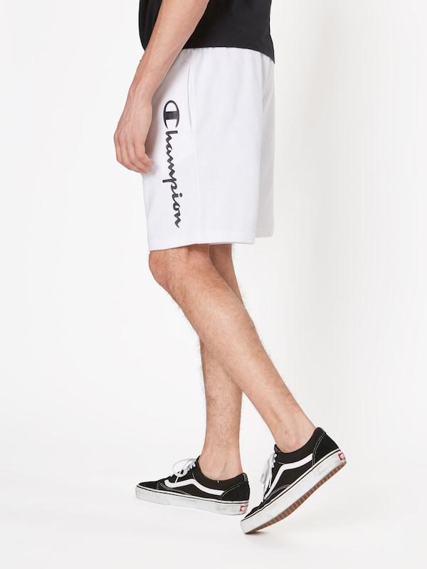Pantalon 'bermuda' Athletic Champion En Apparel Authentic NoirBlanc kPnwX08O