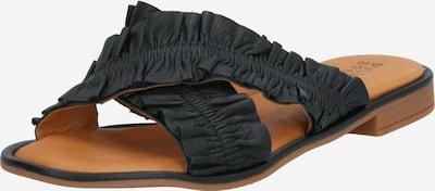 BULLBOXER Pantolette in braun / schwarz, Produktansicht