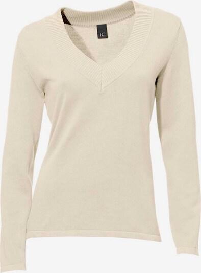 heine Pulover u prljavo bijela: Prednji pogled