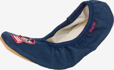 TROSTEL Gymnastikschuhe für Mädchen, Einhorn in blau, Produktansicht