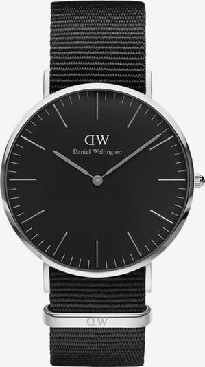 Daniel Wellington Uhr 'Cornwall' in schwarz / silber, Produktansicht