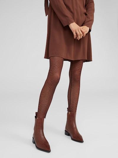 EDITED Leggings 'Marten' in braun / schwarz, Modelansicht