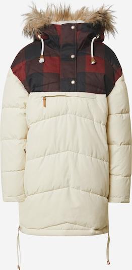 ICEPEAK Veste de sport 'ALABAMA' en rouge foncé / noir / blanc, Vue avec produit