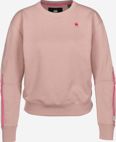 G-Star RAW Sweater ' Xzyph Incremis ' in apricot / koralle / lachs, Produktansicht