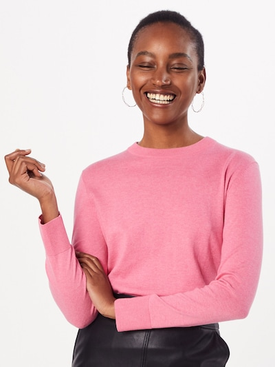 BOSS Pull-over 'Ibinnis' en rose: Vue de face