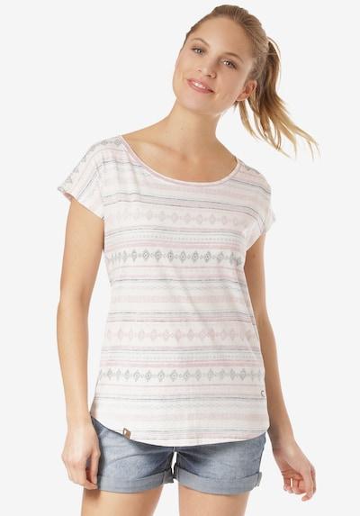 Lakeville Mountain T-Shirt 'Meli' in mischfarben / weiß, Produktansicht