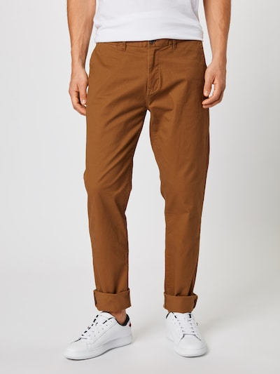 SCOTCH & SODA Pantalon chino 'Stuart' en camel: Vue de face