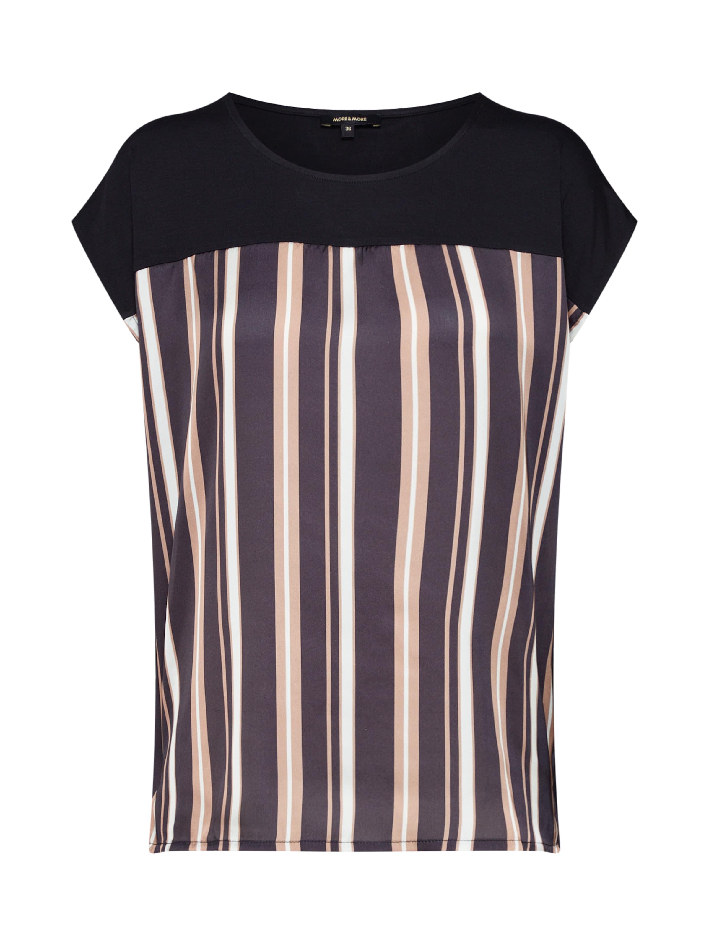 En Mélange T shirt CouleursNoir Moreamp; De mNn0Ovy8w