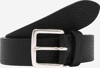 Calvin Klein Jeans Opasek 'CLASSIC TUMBLED' - černá: Pohled zepředu