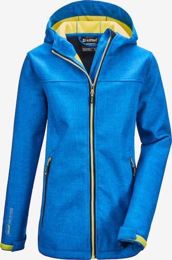KILLTEC Sportjacke 'Lynge' in royalblau / neongelb, Produktansicht