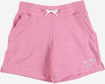 Nike Sportswear Pantalon 'G NSW SHORT FLC FB' en rose, Vue avec produit