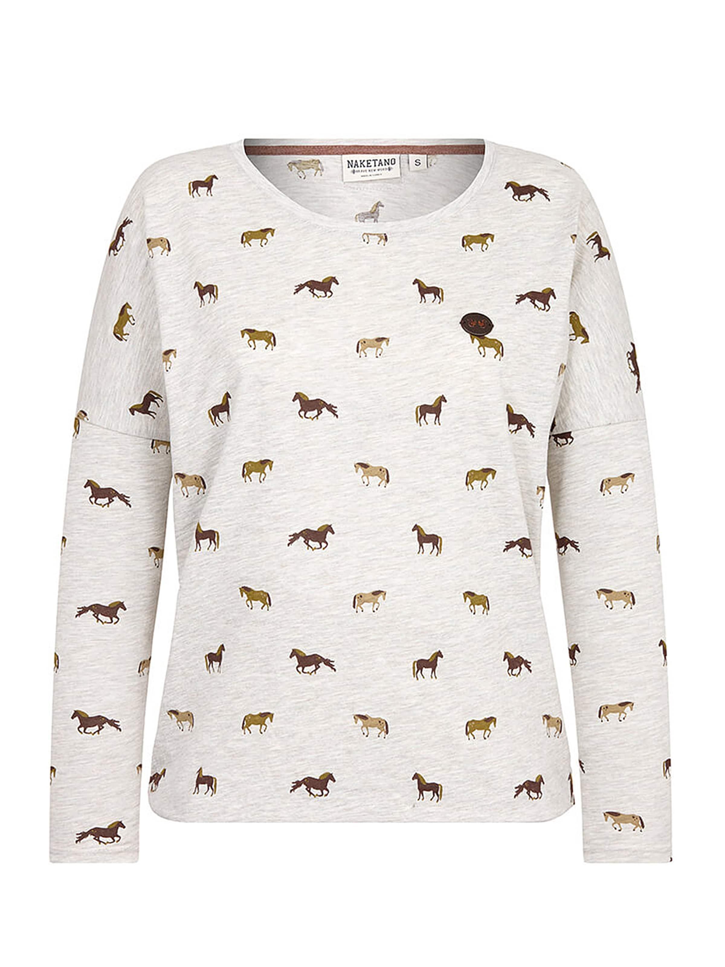 Badehose' En Blanc Naketano 'unterhose T Marron BeigeFoncé Cassé shirt LUSpGVqzM
