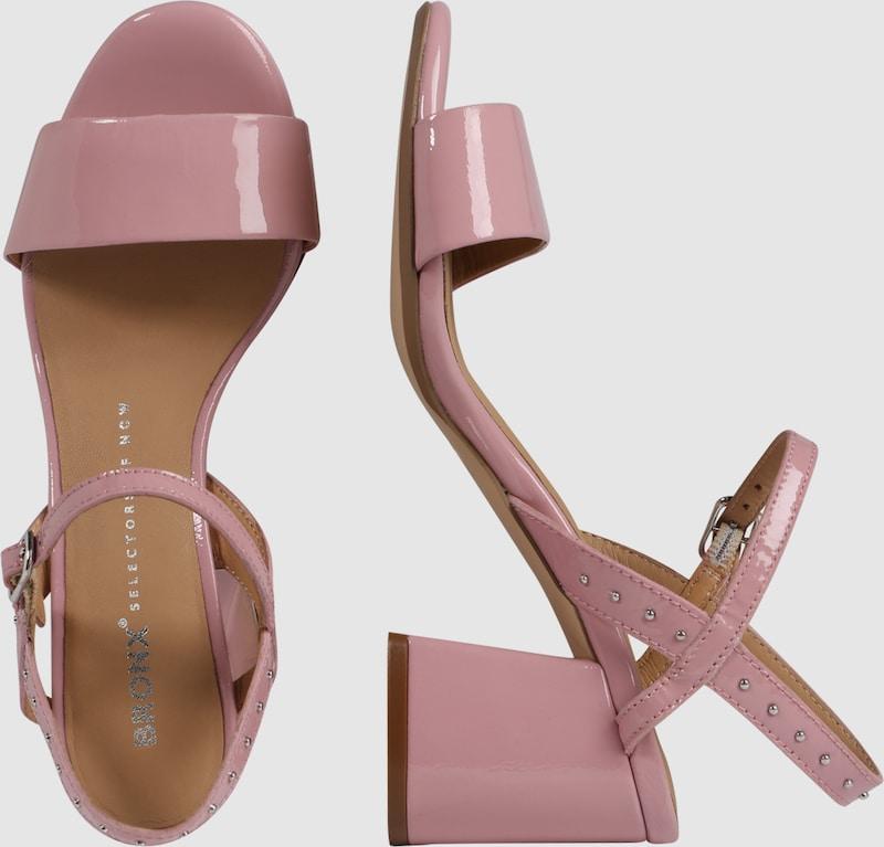 BRONX   Sandalette mit mit mit Nietenbesatz 81a5c2