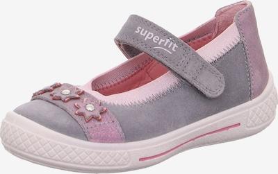 SUPERFIT Ballerina 'Tensy' in graumeliert / pink, Produktansicht