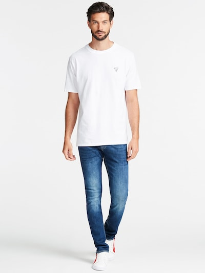 GUESS Shirt in weiß: Frontalansicht