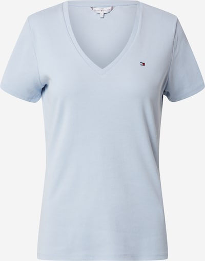 TOMMY HILFIGER T-Shirt 'SP AISHA SLIM V-NK TOP SS' in blau, Produktansicht