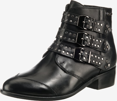 Pepe Jeans Stiefeletten 'Chiswick Lessy' in schwarz: Frontalansicht
