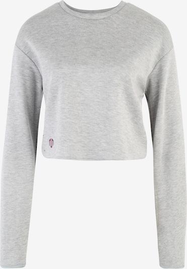 MOROTAI T-shirt fonctionnel 'NAKA WB Cropped Longsleeve' en gris clair, Vue avec produit