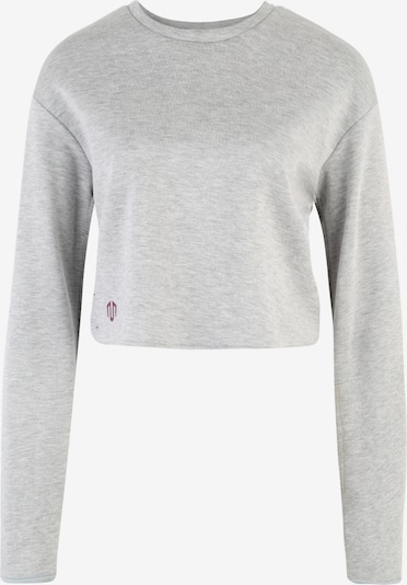 MOROTAI Sport-Shirts & Tops 'NAKA WB Cropped Longsleeve' in hellgrau, Produktansicht