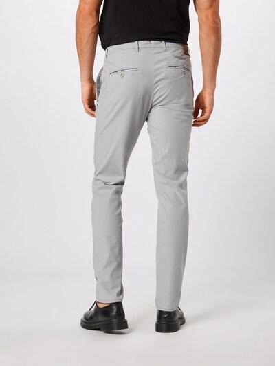 Pantaloni eleganți 'fabio in' BRAX pe gri deschis: Privire spate