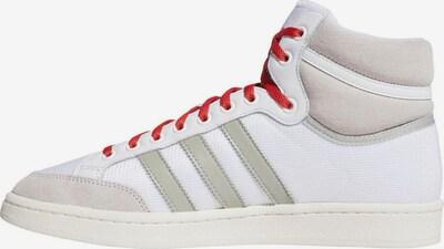 ADIDAS ORIGINALS Sneaker 'Americana Hi' in rot / schwarz / weiß, Produktansicht