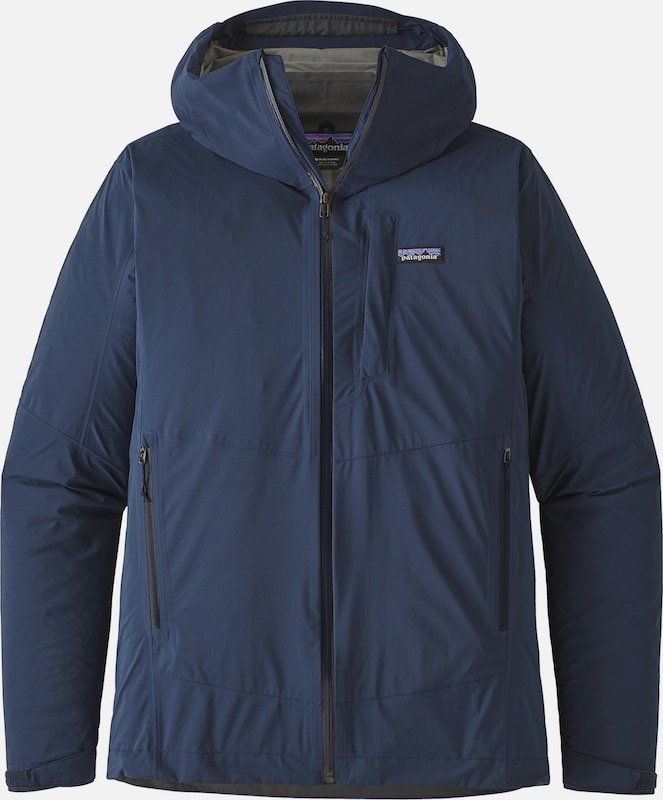 PATAGONIA Outdoorjacke 'Rainshadow' in navy: Frontalansicht