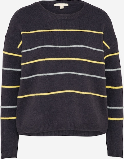 ESPRIT Sweater 'striped' in navy / mischfarben, Produktansicht