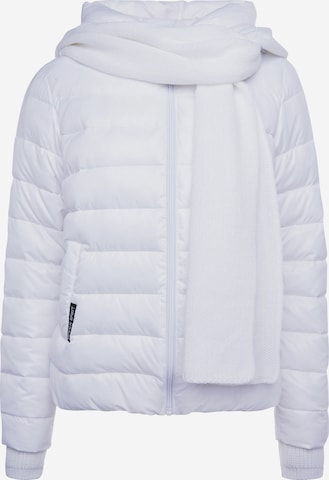 Soccx Winter Jacket in White