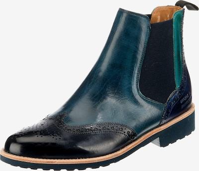 MELVIN & HAMILTON Chelsea Boots 'Selina 6' in kobaltblau / jade, Produktansicht
