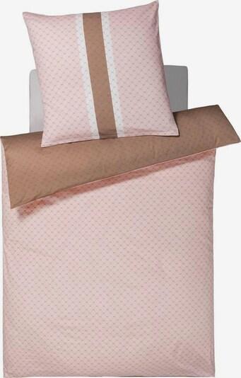 JOOP! Wendebettwäsche in nude / pink / weiß, Produktansicht