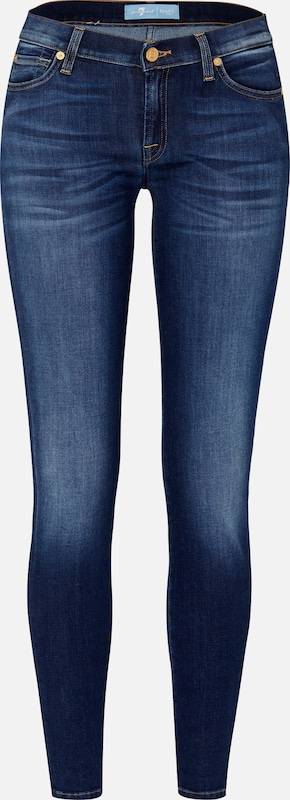 7 for all mankind Skinny Denim in blue denim, Produktansicht