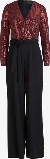 Vera Mont Jumpsuit in de kleur Donkerrood / Zwart, Productweergave