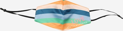 DELICATELOVE Masque en tissu 'Rainbow' en mélange de couleurs, Vue avec produit
