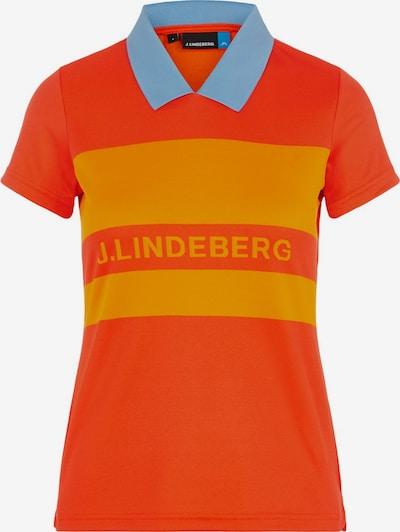 J.Lindeberg Shirt 'Corinna' in orange / orangerot: Frontalansicht