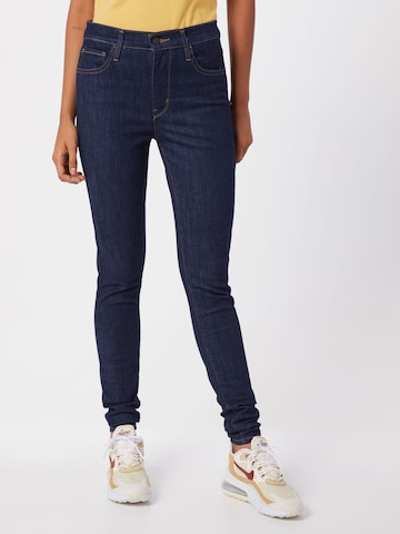 LEVI'S Jeans '720™ HIRISE SUPER SKINNY' in Blauw