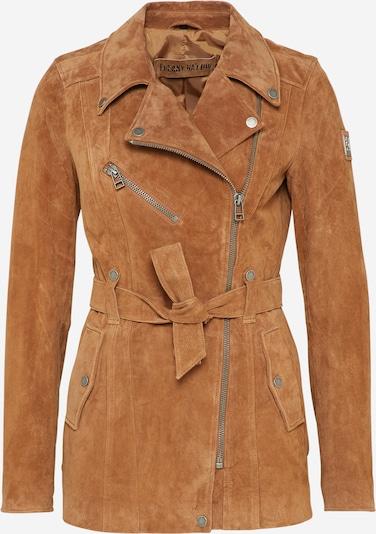 FREAKY NATION Between-season jacket 'Modern Times' in Cognac, Item view