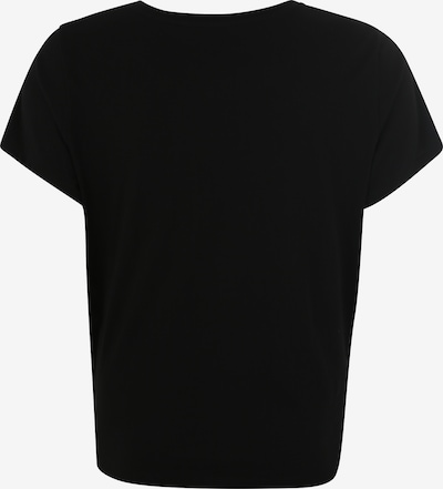 Levi's® Plus Shirt 'PL PERFECT TEE' in karminrot / schwarz: Rückansicht